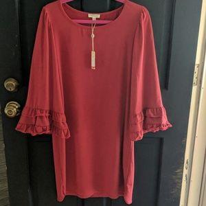 New Max Studio dress size medium, red